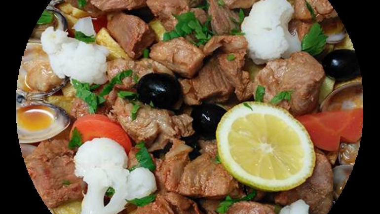 Carne de Porco à Alentejana c/ Amêijoa Preta