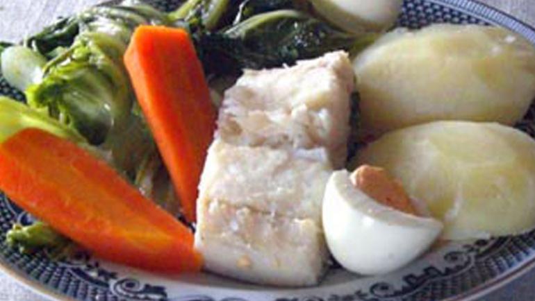 Bacalhau Cozido c/ Todos